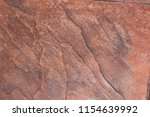 Surface Of The Red Rocks...