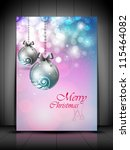 beautiful greeting card  gift...   Shutterstock .eps vector #115464082