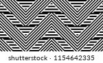 seamless pattern with striped... | Shutterstock .eps vector #1154642335