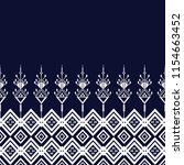 geometric ethnic pattern... | Shutterstock .eps vector #1154663452