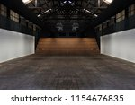 large spacious room ... | Shutterstock . vector #1154676835