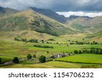 the langdale pikes great... | Shutterstock . vector #1154706232