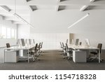 company office interior with a... | Shutterstock . vector #1154718328