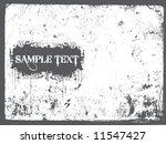 grunge sample text vector... | Shutterstock .eps vector #11547427