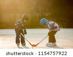 children  boys  friends and... | Shutterstock . vector #1154757922