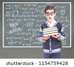 back to school concept with...   Shutterstock . vector #1154759428