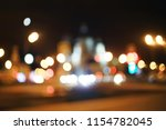 view of car in  traffic jam  ... | Shutterstock . vector #1154782045