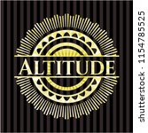 altitude gold emblem | Shutterstock .eps vector #1154785525