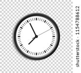 realistic clock watch | Shutterstock .eps vector #1154788612