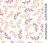 stylish seamless leaf pattern.   Shutterstock .eps vector #1154792428