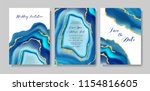 wedding fashion geode or marble ... | Shutterstock .eps vector #1154816605