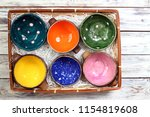 many different bright... | Shutterstock . vector #1154819608