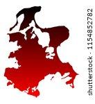 map of ruegen | Shutterstock .eps vector #1154852782
