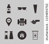 plastic vector icons set. with...   Shutterstock .eps vector #1154854702