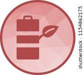 eco friendly battery   Shutterstock .eps vector #1154862175