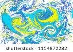 vector pattern of starry night... | Shutterstock .eps vector #1154872282