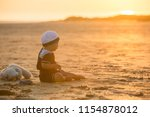 cute baby child  sweet boy ...   Shutterstock . vector #1154878012