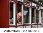 beautiful child  baby boy ... | Shutterstock . vector #1154878018