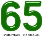 numeral 65  sixty five ... | Shutterstock . vector #1154885638