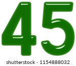 numeral 45  forty five ... | Shutterstock . vector #1154888032