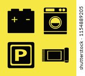 dirty vector icons set. with...   Shutterstock .eps vector #1154889205