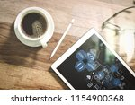 coding software developer work... | Shutterstock . vector #1154900368