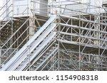 metal prefabricated structures  ... | Shutterstock . vector #1154908318