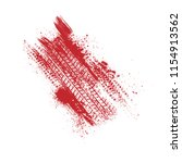 Red And White Ink Blots Splash...