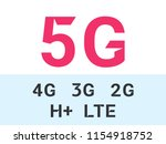 5g internet network vector...