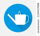 watering can vector icon on... | Shutterstock .eps vector #1154919988