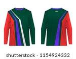 templates of sportswear designs ...   Shutterstock .eps vector #1154924332