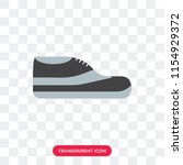 footwear vector icon isolated... | Shutterstock .eps vector #1154929372