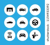 9 highway icons in vector set....   Shutterstock .eps vector #1154933392