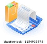 the accountant calculator ...   Shutterstock .eps vector #1154935978