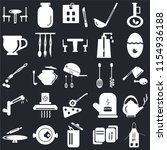 set of 25 icons such as apron ...