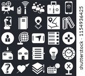 set of 25 icons such as error ...