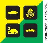 4 journey icons in vector set....   Shutterstock .eps vector #1154938942