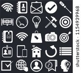 set of 25 icons such as idea ...