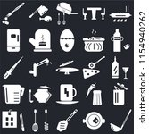 set of 25 icons such as scoop ...