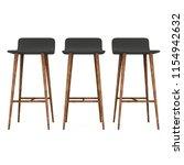 bar stool furniture 3d render... | Shutterstock . vector #1154942632