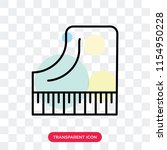 piano vector icon isolated on... | Shutterstock .eps vector #1154950228