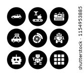 9 manufacture icons in vector... | Shutterstock .eps vector #1154953885