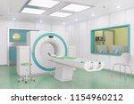 3d render of a computed...   Shutterstock . vector #1154960212