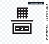 stove vector icon isolated on... | Shutterstock .eps vector #1154962015