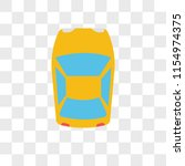 car vector icon isolated on...   Shutterstock .eps vector #1154974375