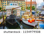 copenhagen  denmark   june 2018 ... | Shutterstock . vector #1154979508