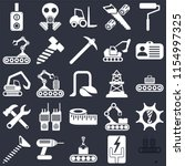 set of 25 icons such as... | Shutterstock .eps vector #1154997325