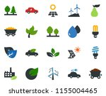 colored vector icon set   leaf...   Shutterstock .eps vector #1155004465