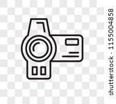 camcorder vector icon isolated...