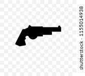 revolver vector icon isolated... | Shutterstock .eps vector #1155014938
